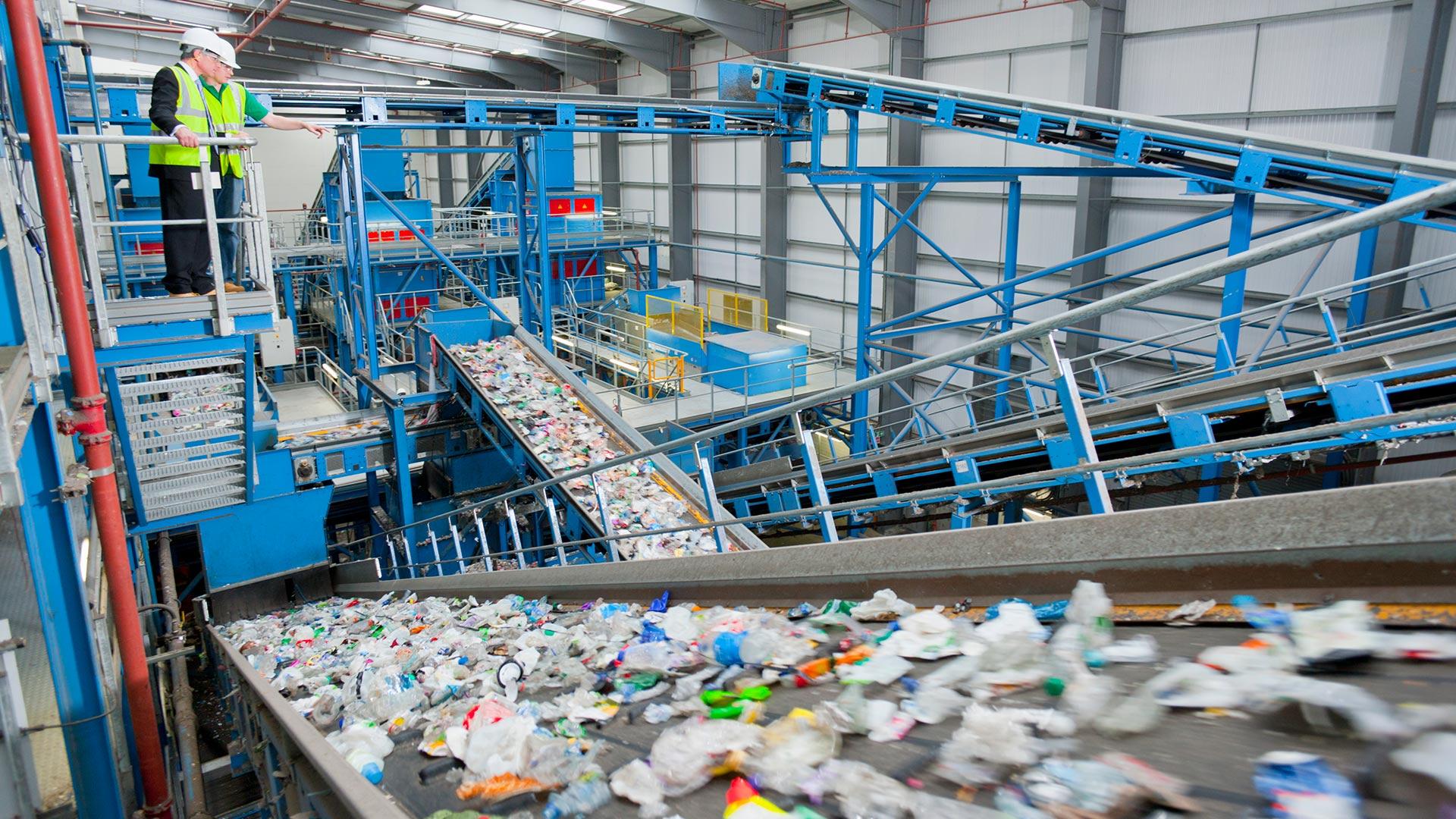 impianto riciclaggio
